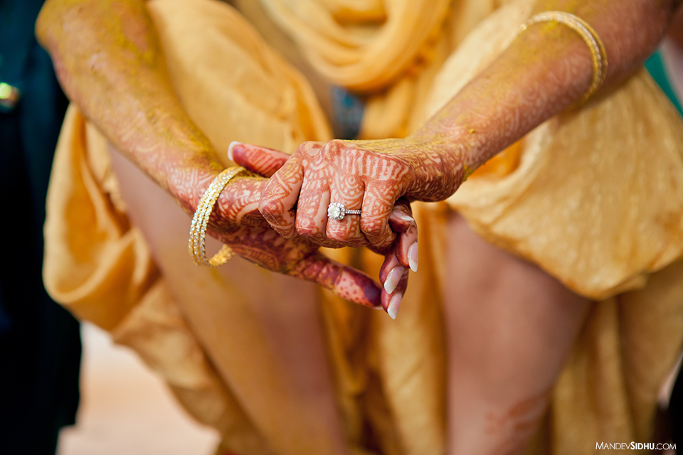 Sikh wedding vatna