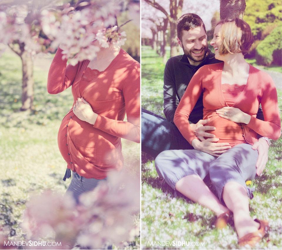 seattle maternity photography happy couple