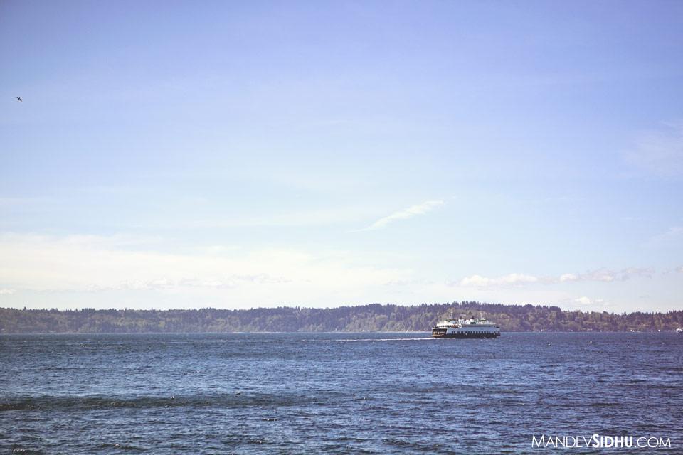 West Seattle Puget Sound Ferry