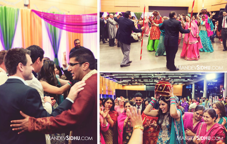 Indian Wedding Sangeet Photography | Seattle Center - Fisher