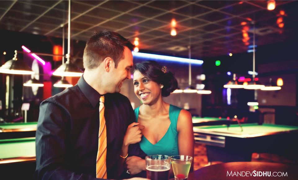 Bar Engagement Photo