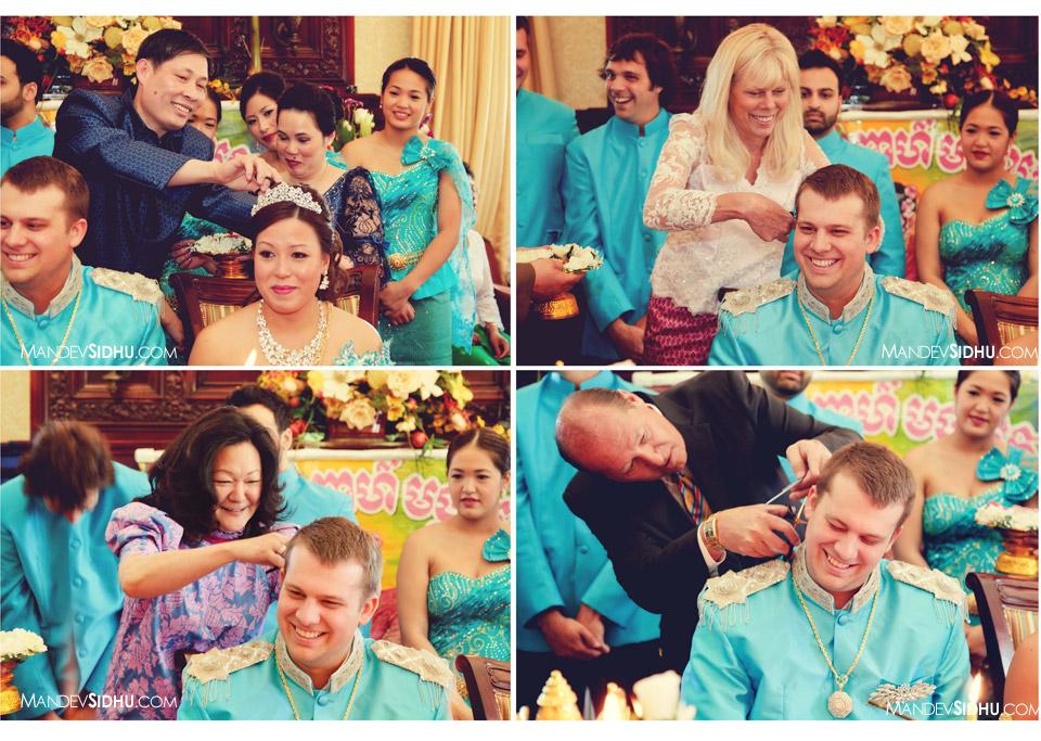 Gaat-sah hair cutting ceremony