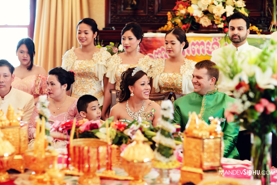 Cambodian Khmer Wedding Ceremony Photographer Loyola University