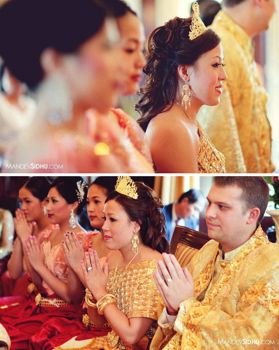 Pairing Ceremony Cambodian Khmer Wedding