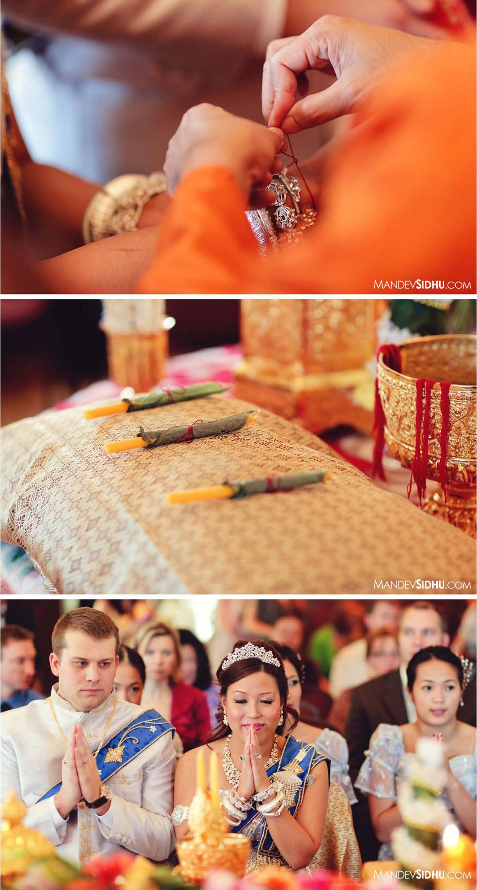 Chinese-Cambodian Khmer Wedding ceremony