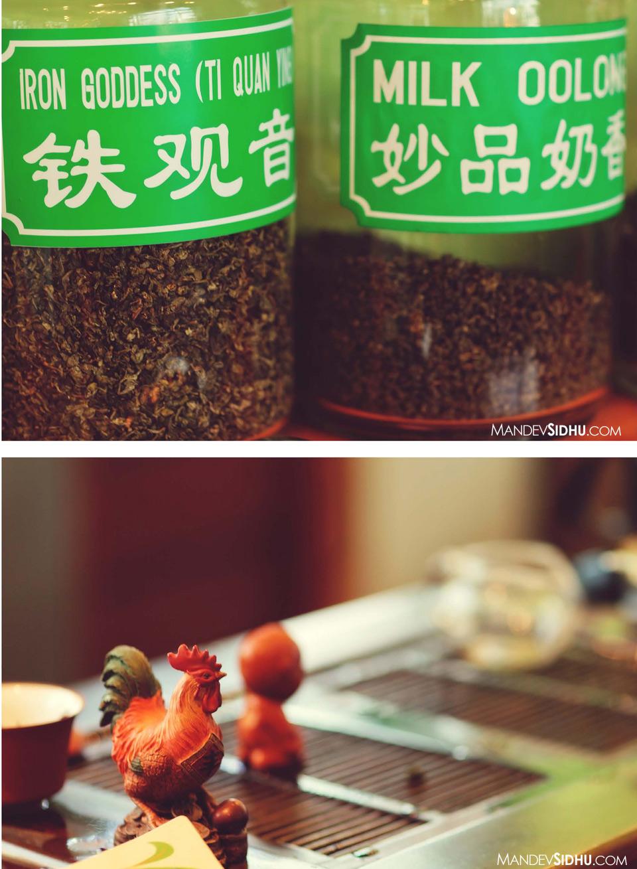 loose-leaf tea