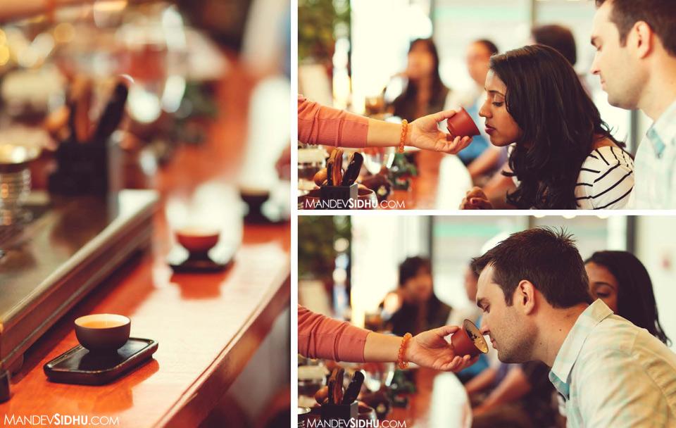 tea tasting couple