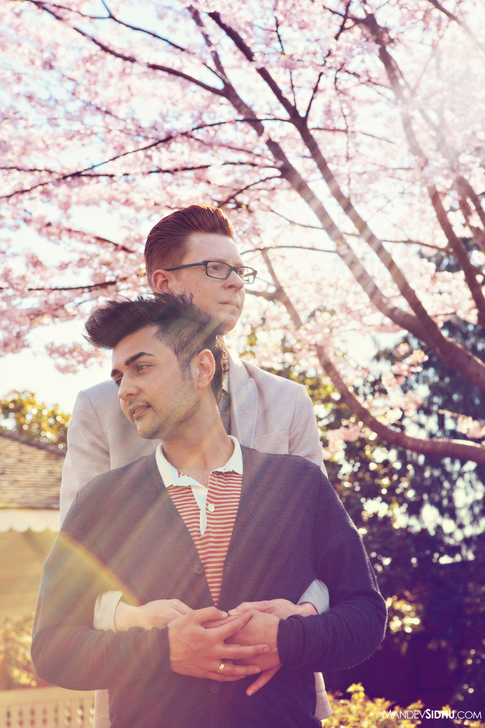 seattle same-sex engagement photographer