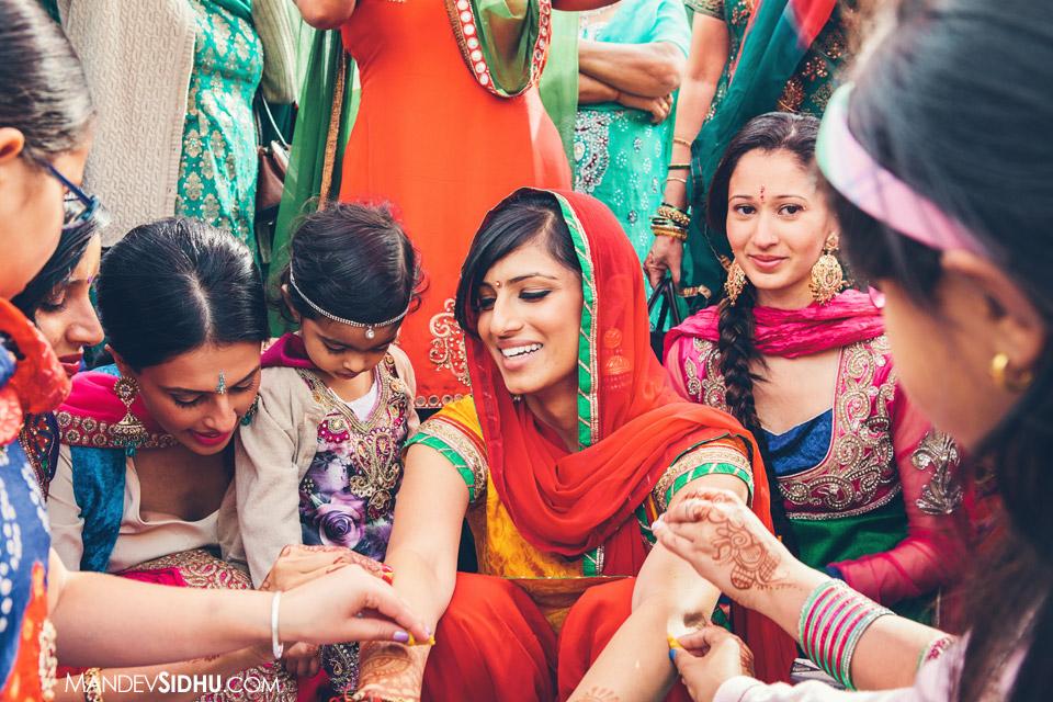 bride's maiyaan