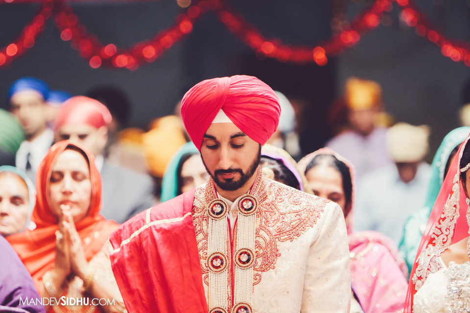 sikh wedding groom