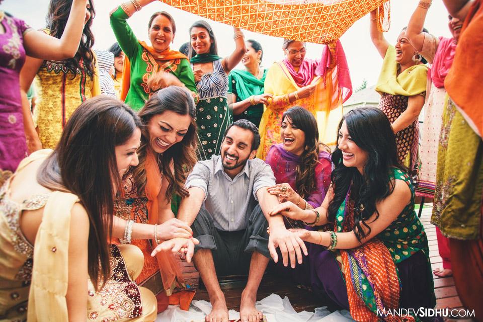groom's maiyaan