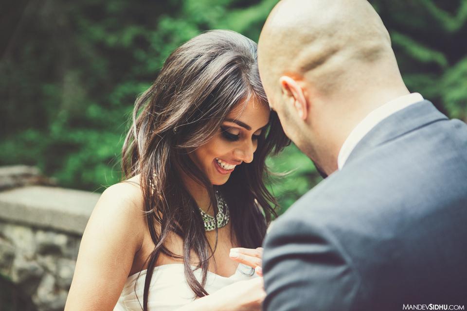 surprise proposal happy couple