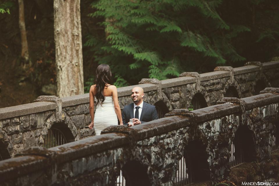 Bellingham surprise proposal photo