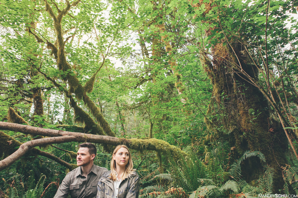 Seattle Engagement Photography in Nature