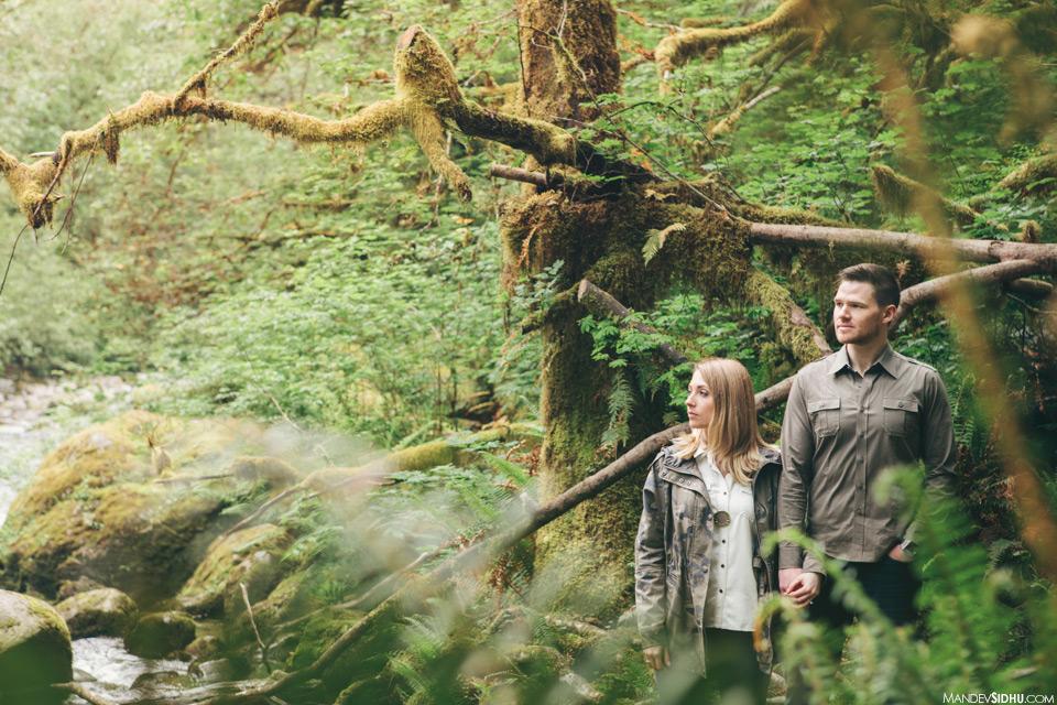 Seattle nature engagement photo