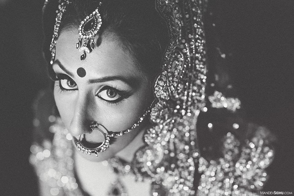 Sikh bride portrait Seattle