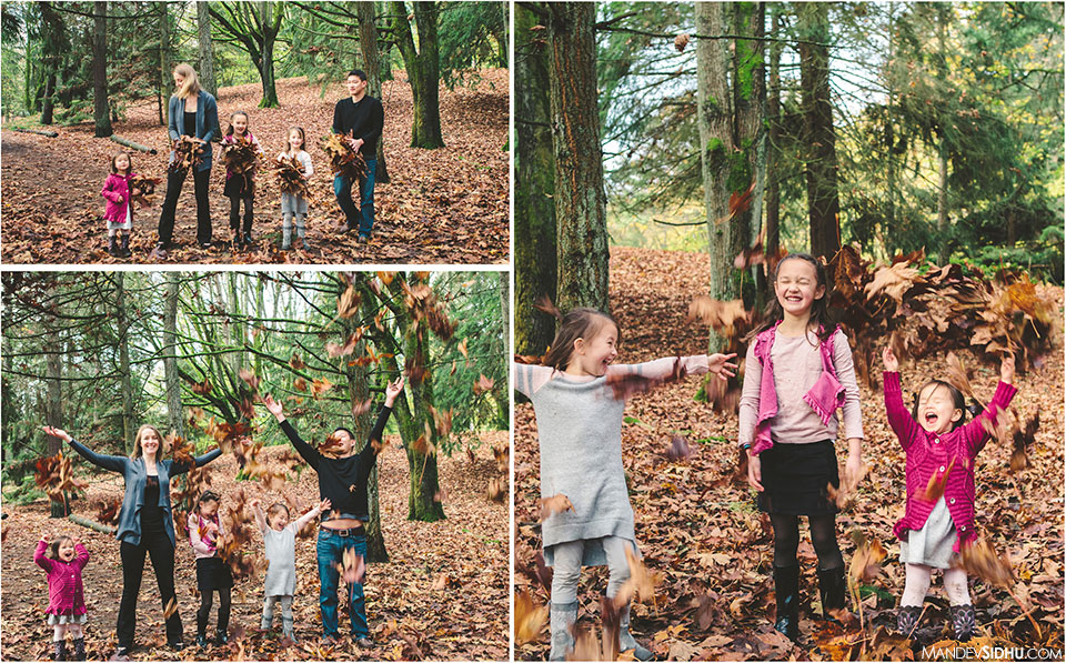 Family Leave Fight at Woodland Park for photo shoot