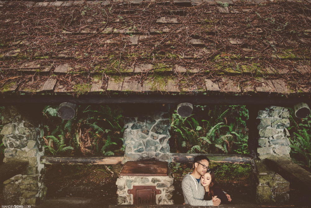 stone cottage engagement