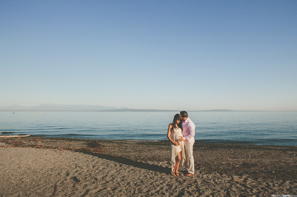 Pacific Northwest Engagement Photos at the beach and ocean