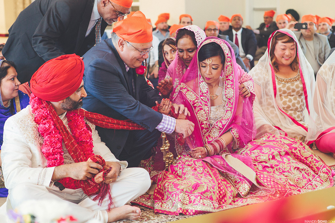 Indian Asian Fusion Multicultural wedding photography
