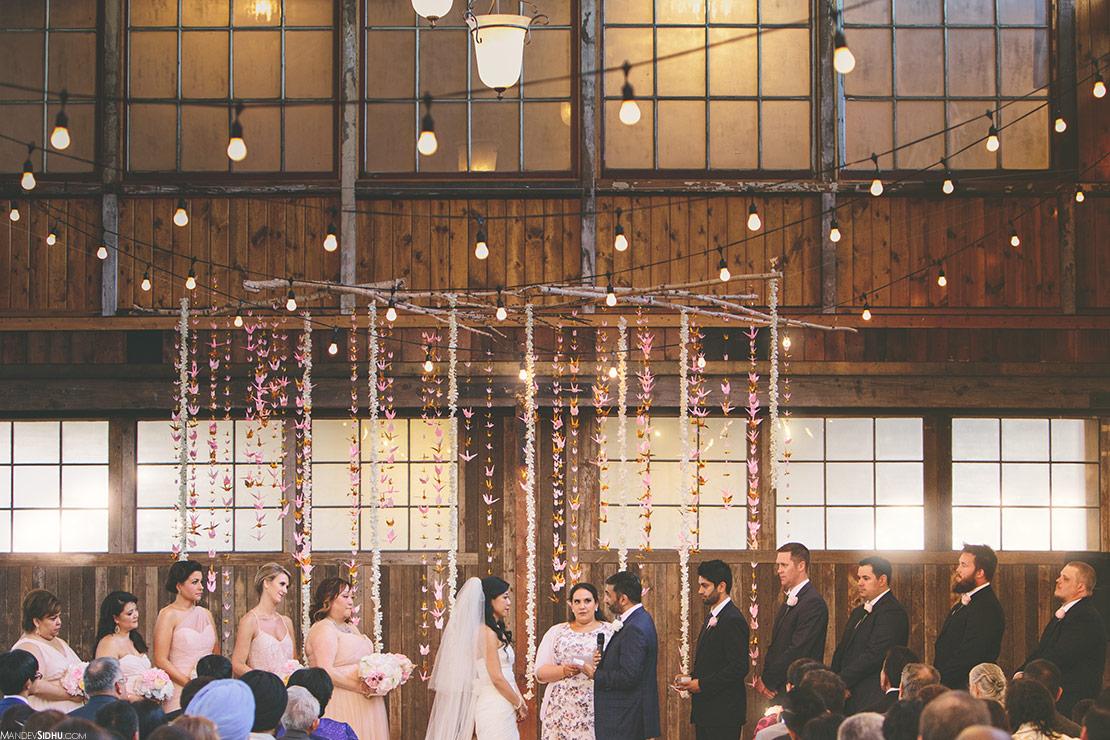 Chinese/Japanese-Indian Civil Wedding Ceremony