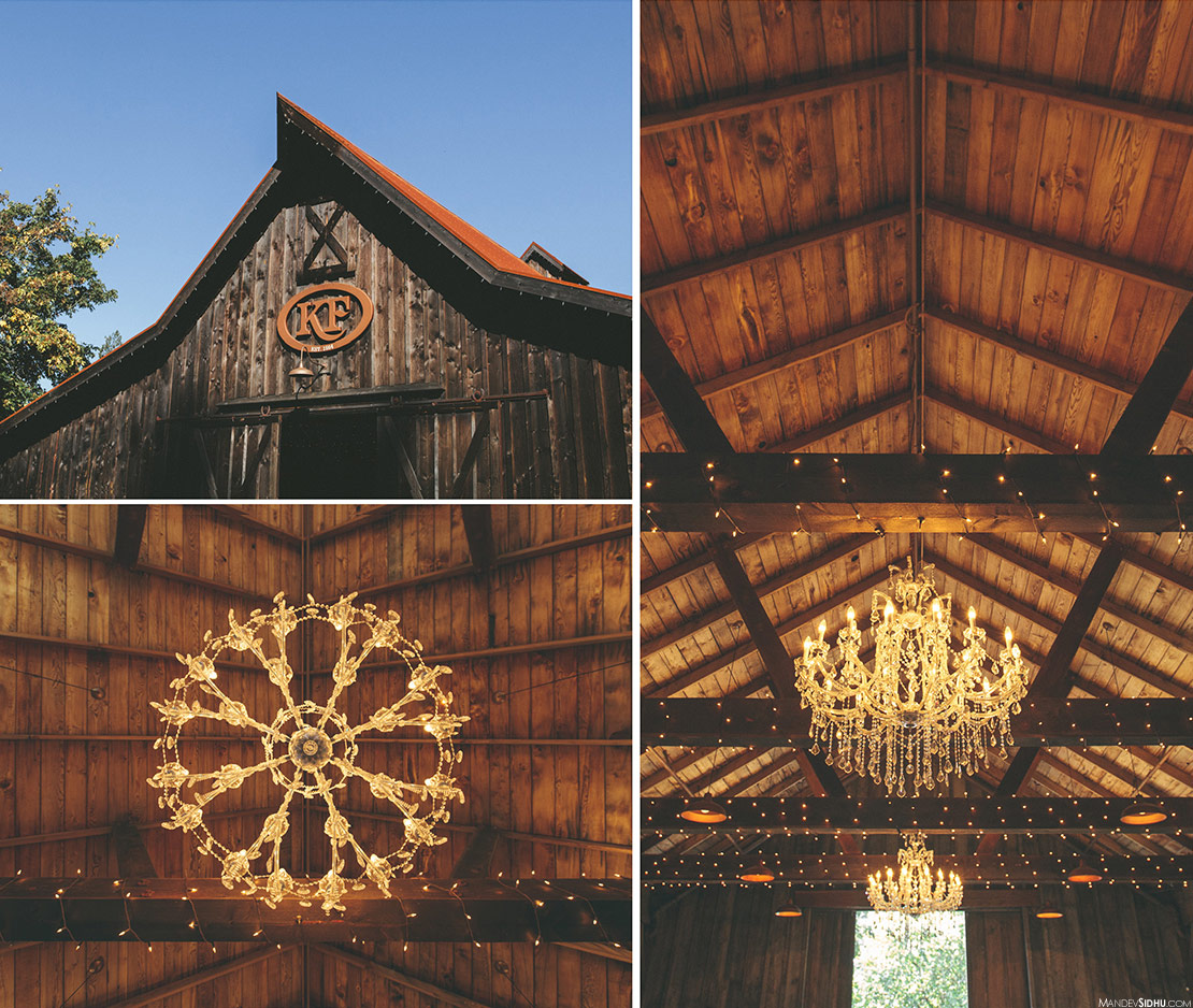 Rustic Wooden Barn at Kelley Farm in Bonney Lake