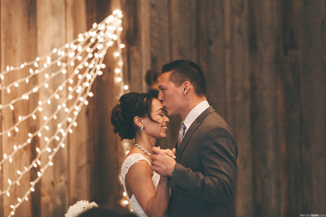 Rustic Barn first dance photo - Seattle Tacoma Photography