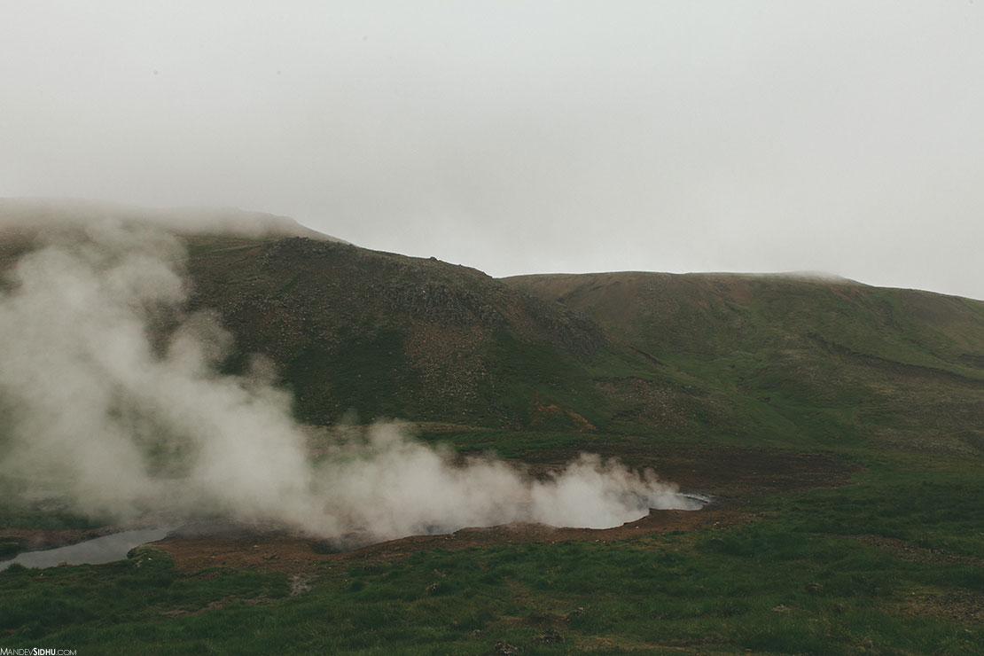 Geothermal hikes in Iceland