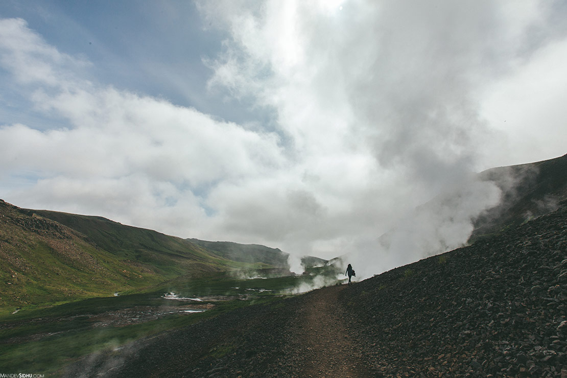 Summer Hiking in Iceland